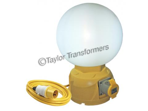110v 57w Fluorescent Free Standing Globe Work Light