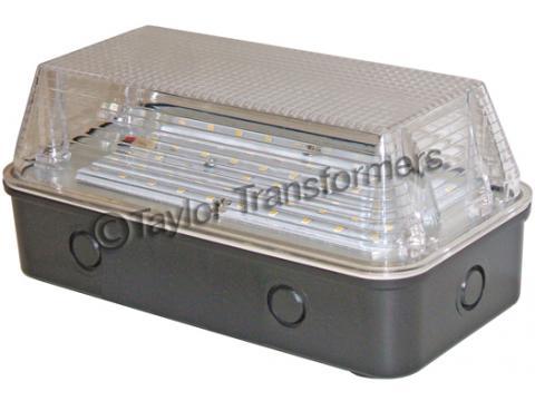110v led bulkhead light clear lens taylor transformers ltd