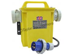 WALL MOUNTED POWERTOOL TRANSFORMER 240 - 110V IP65/67