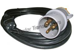 110 VOLT 32 AMP IEC 320 ADAPTOR / PAT TEST LEAD